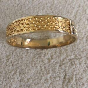 Coach Jewelry - Coach logo bracelet